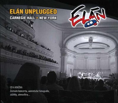 Elán Unplugged, Carnegie Hall, New York  CD + knížka